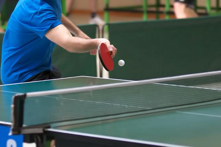 Tipos de golpes en tenis de mesa