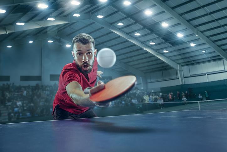 ¿Qué tipos de golpes existen en el ping pong?