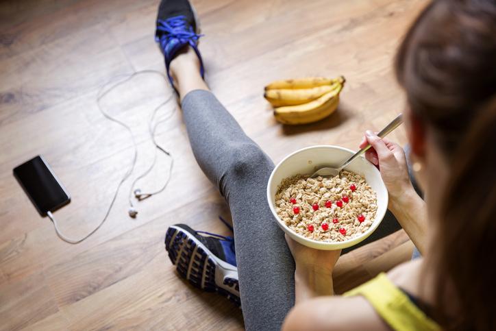 alimentación para el deporte